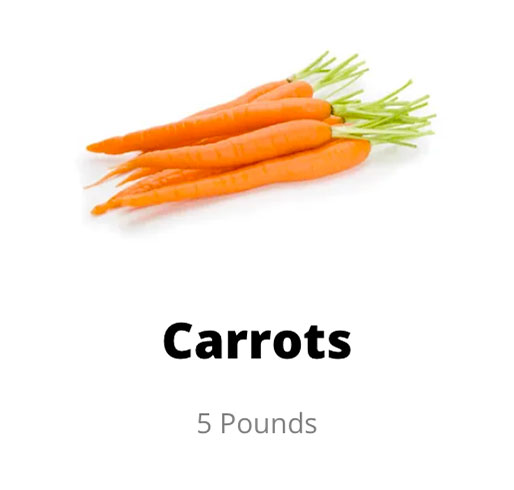 farmers share carrots